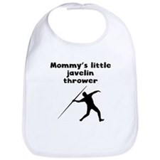 Mommys Little Javelin Thrower Bib