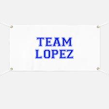 team LOPEZ-var blue Banner