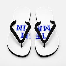 team MARTIN-var blue Flip Flops