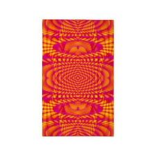 Peachy Pattern 3'x5' Area Rug