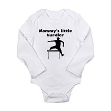 Mommys Little Hurdler Body Suit