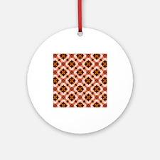 Colorful Kaleidoscope Pattern Ornament (Round)