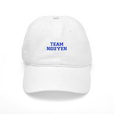 team NGUYEN-var blue Baseball Baseball Cap