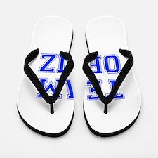 team ORTIZ-var blue Flip Flops