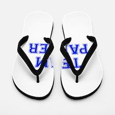 team PARKER-var blue Flip Flops