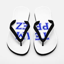 team PEREZ-var blue Flip Flops
