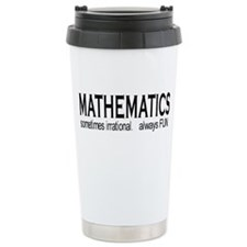 Cute Mathematics Travel Mug
