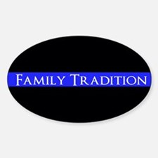 Police Family Tradition Decal