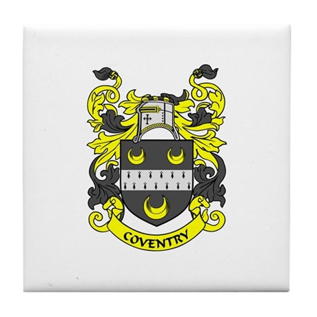 COVENTRY Coat of Arms Tile Coaster