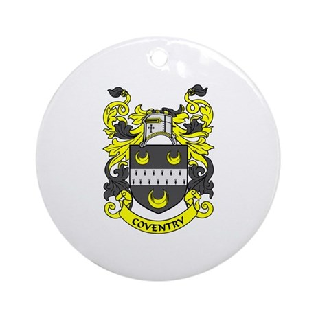 COVENTRY Coat of Arms Ornament (Round)