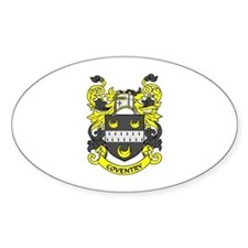 COVENTRY Coat of Arms Oval Decal