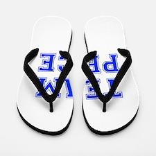 team PRICE-var blue Flip Flops