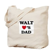 Walt loves dad Tote Bag