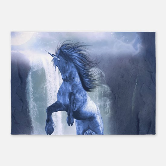 Blue Unicorn 1 5'x7'Area Rug