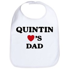 Quintin loves dad Bib