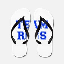team ROSS-var blue Flip Flops