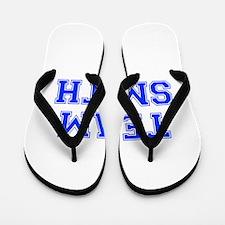 team SMITH-var blue Flip Flops