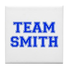 team SMITH-var blue Tile Coaster