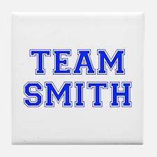 team SMITH-var blue Tile Coaster