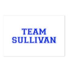 team SULLIVAN-var blue Postcards (Package of 8)