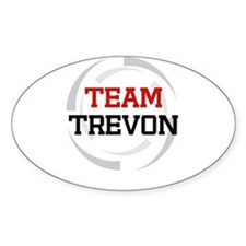 Trevon Oval Decal