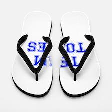 team TORRES-var blue Flip Flops