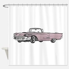 1958 Thunderbird Shower Curtain
