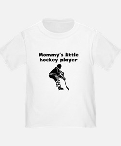 Mommys Little Hockey Player T-Shirt