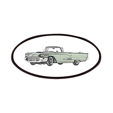 1958 thunderbird patches by transportationnation