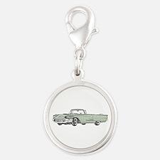 1958 Thunderbird Silver Round Charm