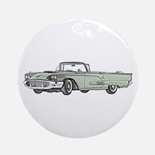 1958 Thunderbird Ornament (Round)