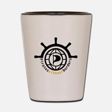 Pirates without borders Shot Glass