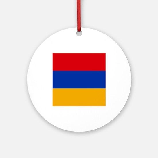 Flag of Armenia Ornament (Round)