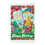 Happy Holidays 3'x5' Area Rug