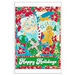 Happy Holidays Large Poster