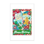 Happy Holidays Mini Poster Print