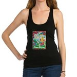 Happy Holidays Racerback Tank Top
