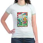 Happy Holidays Jr. Ringer T-Shirt