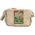 Happy Holidays Messenger Bag