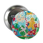 "Happy Holidays 2.25"" Button (100 pack)"