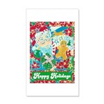 Happy Holidays 35x21 Wall Decal