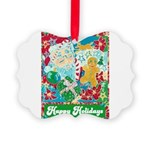 Happy Holidays Picture Ornament