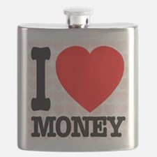 I Love Money Flask