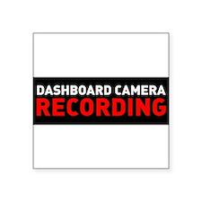"""Unique Camera Square Sticker 3"""" x 3"""""""