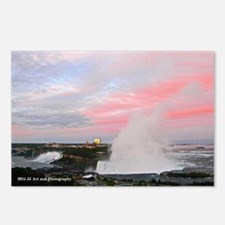 American Falls Dusk Postcards (package Of 8)