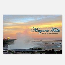 Niagara Falls Sunset Postcards (package Of 8)