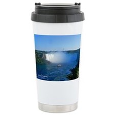 Horseshoe Falls And Boatstainless Steel Travel Mug