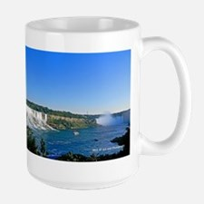 Niagara Falls And Boat MugMugs
