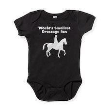 Worlds Smallest Dressage Fan Baby Bodysuit