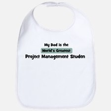 Worlds Greatest Project Manag Bib